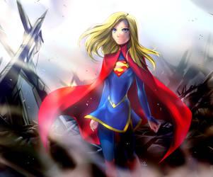 Supergirl by KagomesArrow77