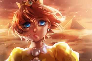 Princess Daisy by KagomesArrow77