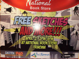 NBS's Free Sketches and More by force2reckon