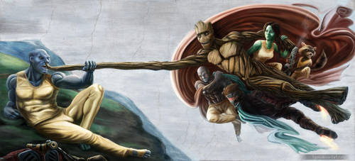 The Creation of Pelvic Sorcery by Fgore