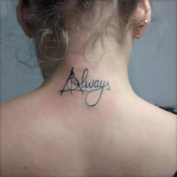 abf73d5d6 Harry Potter Always Tattoo By Fgore On Deviantart