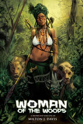 Woman of the Woods Book Cover by Djele