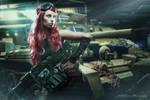 Tank Girl by Kyofuu