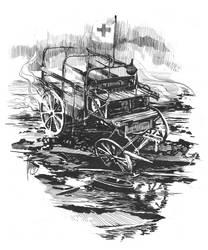 World War Ambulance by greyfin
