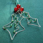 Holly - a Christmas decoration by SneddoniaDesigns