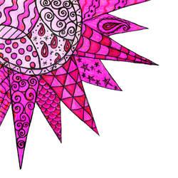 Pink Sunshine by SneddoniaDesigns
