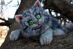 ETSY Commission Cheshire cat by MalinaToys