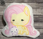 FOR SALE  MLP: Fluttershy Pillow by MalinaToys