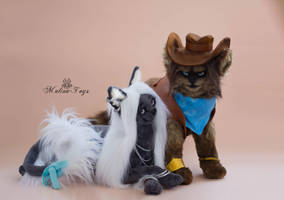 Poseable toy Commission for Remarie by MalinaToys
