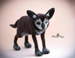 Poseable toy Chihuahua for Shiranuikurai by MalinaToys