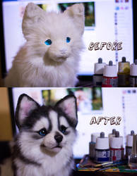 Before and After by MalinaToys