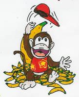 500 CC - 086: Diddy Kong by Hyliaman