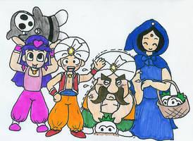 500CC - 211: Imajin and Family by Hyliaman