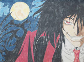 Alucard in the night by Nemesis-Eris