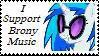 Brony Music Stamp by McNikk