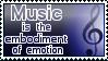 Music Stamp by McNikk