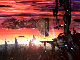 City scene by ChevronLowery