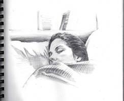 Amanda Sleeping by ChevronLowery