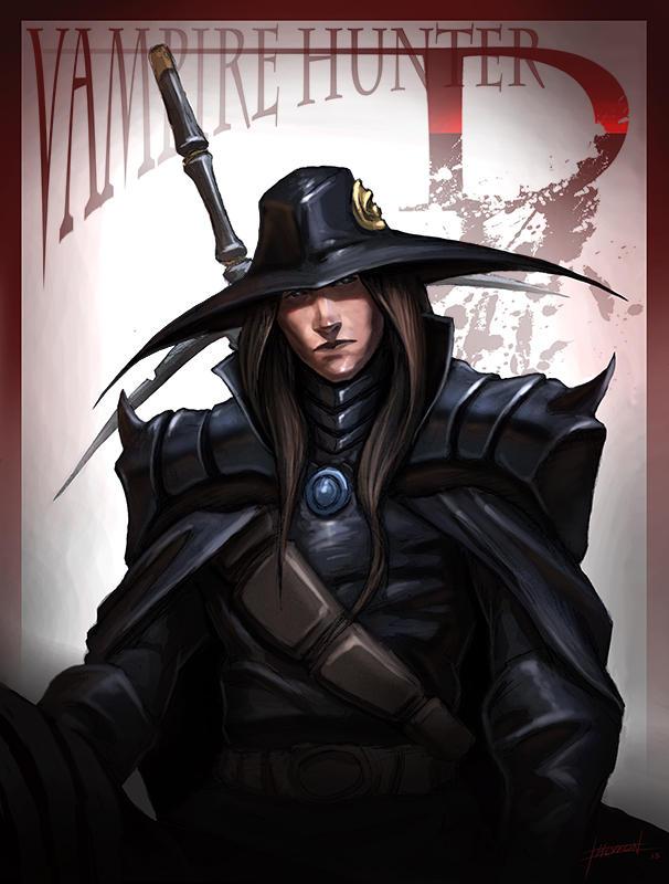 Vampire Hunter D by ChevronLowery