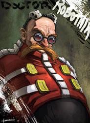 Eggman (Doctor Robotnik) by ChevronLowery