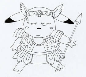 Pikachu... unhappy? by tin-can-man