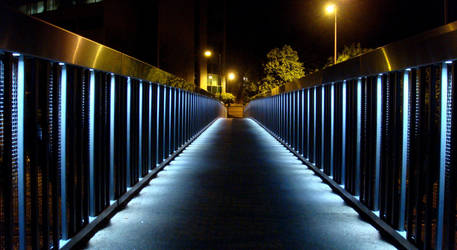 Midnight Sky Bridge I by tin-can-man