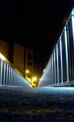 Midnight Sky Bridge II by tin-can-man