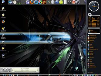 'Hazard' Desktop by tin-can-man