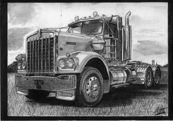 Kenworth W900 by alainmi