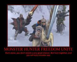 Monster Hunter Promo by CrouchingAllosaurus