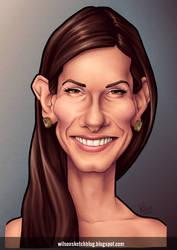 Sandra Bullock (Caricature) by wilson-santos