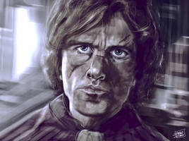 Tyrion Lannister - Game of Thrones by l3raindead