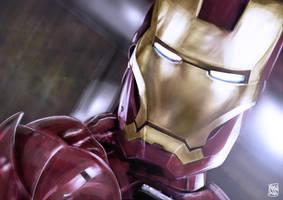 Iron Man by l3raindead