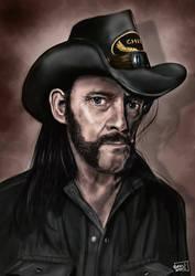 Lemmy Kilmister by l3raindead
