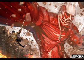 Attack On Titan - Breach by Scuro