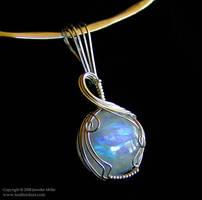 Elegant Round Moonstone by Nambroth