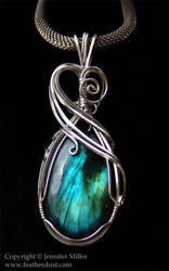 Blue ButterflyWing Labradorite by Nambroth