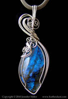 BlueAntiquity Leaf Labradorite by Nambroth