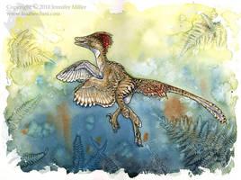 Dromaeosaur Ferns by Nambroth