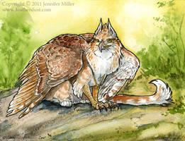 Serene Huntress by Nambroth