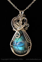 Blue Promise Labradorite Pendant by Nambroth