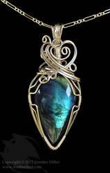 Evening Star Labradorite Pendant by Nambroth
