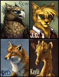 Painterly Digital Badges, batch II by Nambroth