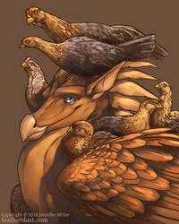 Eldarath's Flock by Nambroth