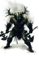 Nordic Warrior by thiago-almeida
