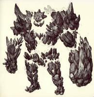 Sketchbook_31_Stone Golem by thiago-almeida