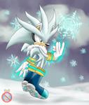 Silver the hedgehog SNOWFUN by shadowhatesomochao