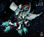 Kaito Shadow Demon Form by shadowhatesomochao