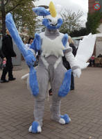 White Kyurem cosplay FULL VIEW by shadowhatesomochao