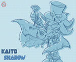 Kaito Shadow Sonic Channel style by shadowhatesomochao
